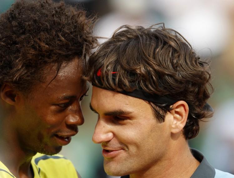 Match tennis Gael Monfils Roger Federer en direct streaming live
