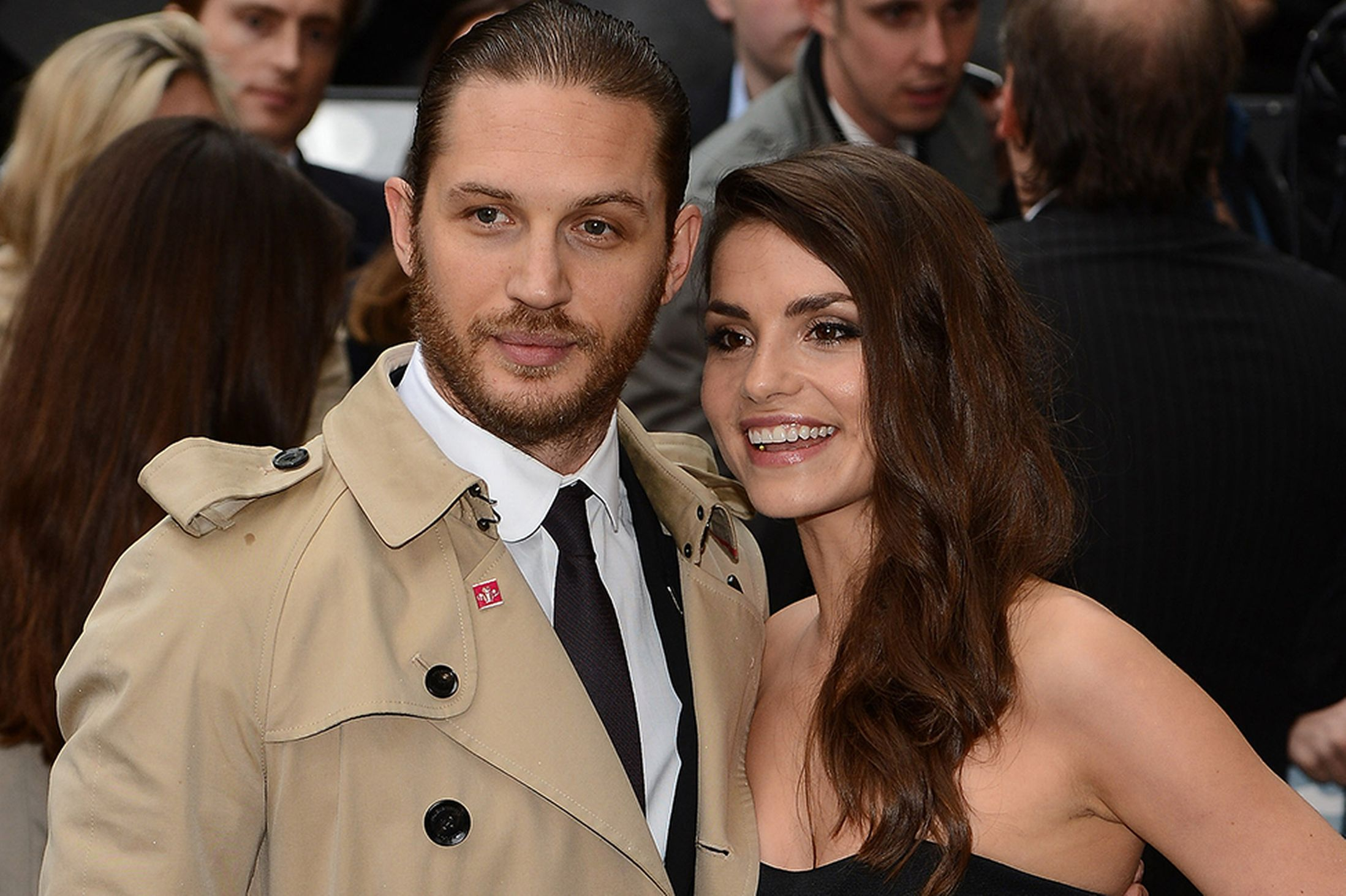 Tom Hardy et Charlotte Riley
