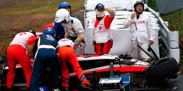 GP Formule 1 du Japon 2014: Accident de Jules Bianchi