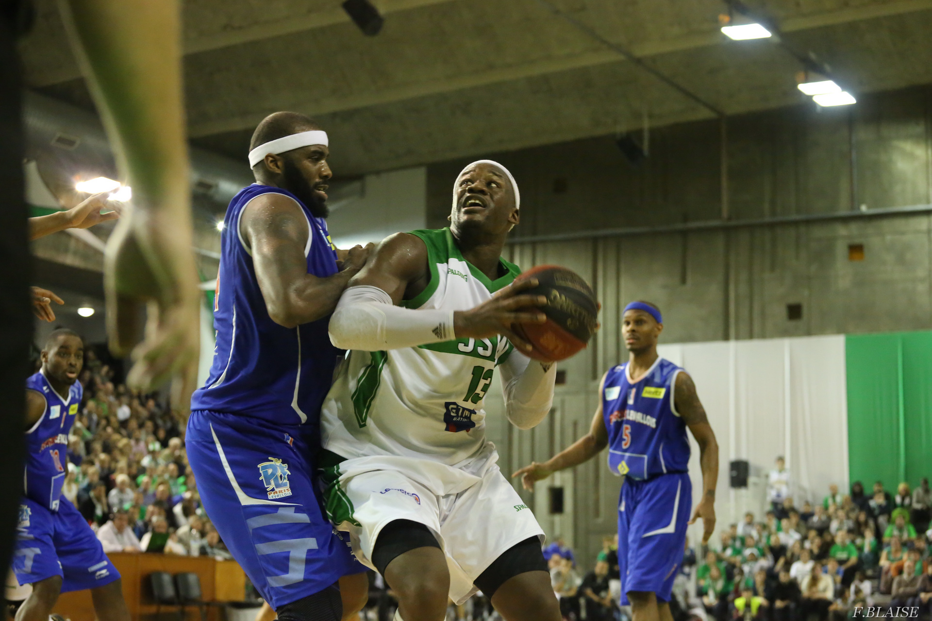 Basket Pro A: JSF Nanterre vs Paris Levallois en direct streaming live