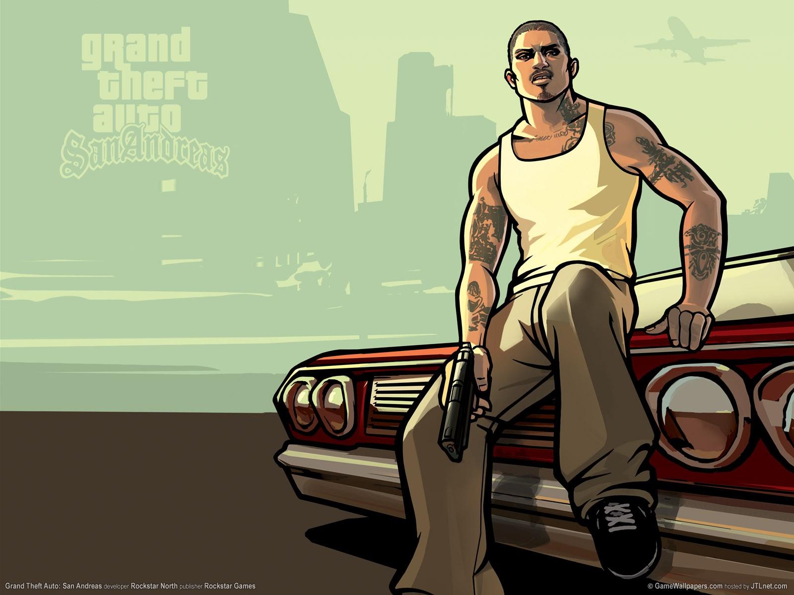 Sortie de GTA San Andreas sur Xbox 360