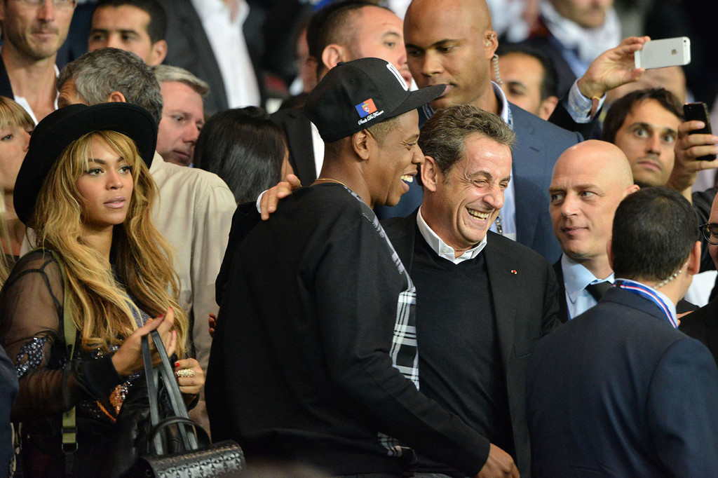 Jay-Z, Beyonce et Nicolas Sarkozy