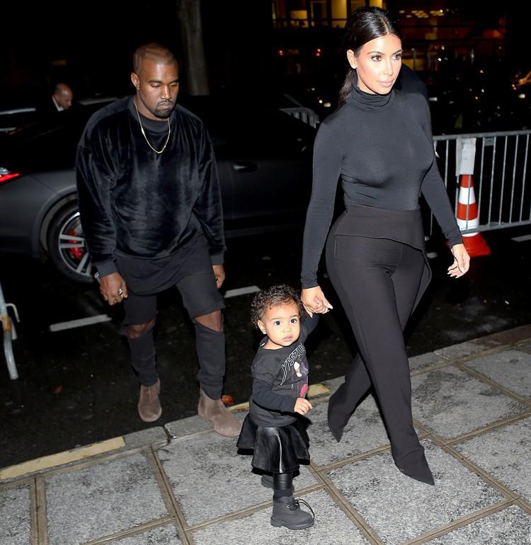 Kanye West - North West - Kim Kardashian