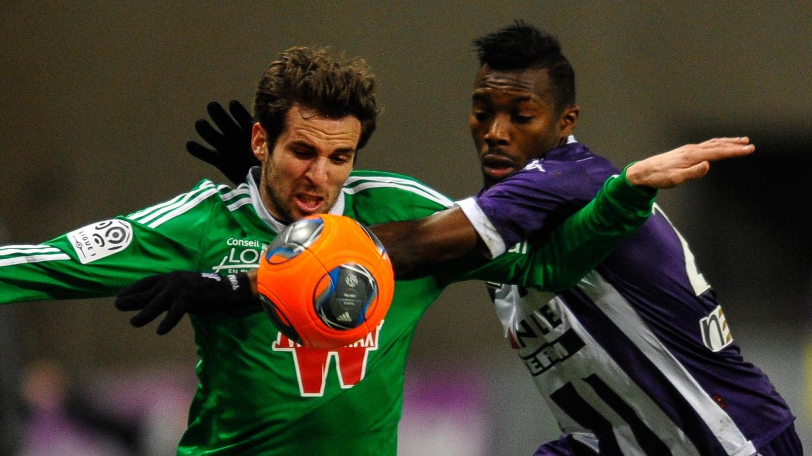 Match AS Saint-Etienne vs Toulouse FC en direct live streaming