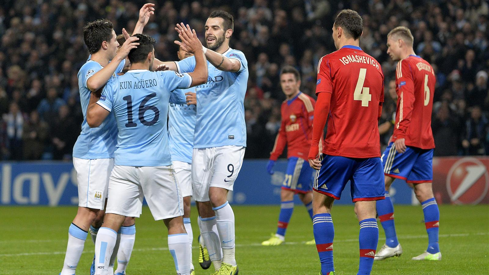 Match CSKA Moscou vs Manchester City en direct live streaming