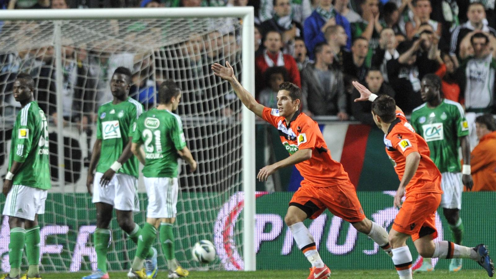 Match FC Lorient vs AS Saint-Etienne en direct live streaming