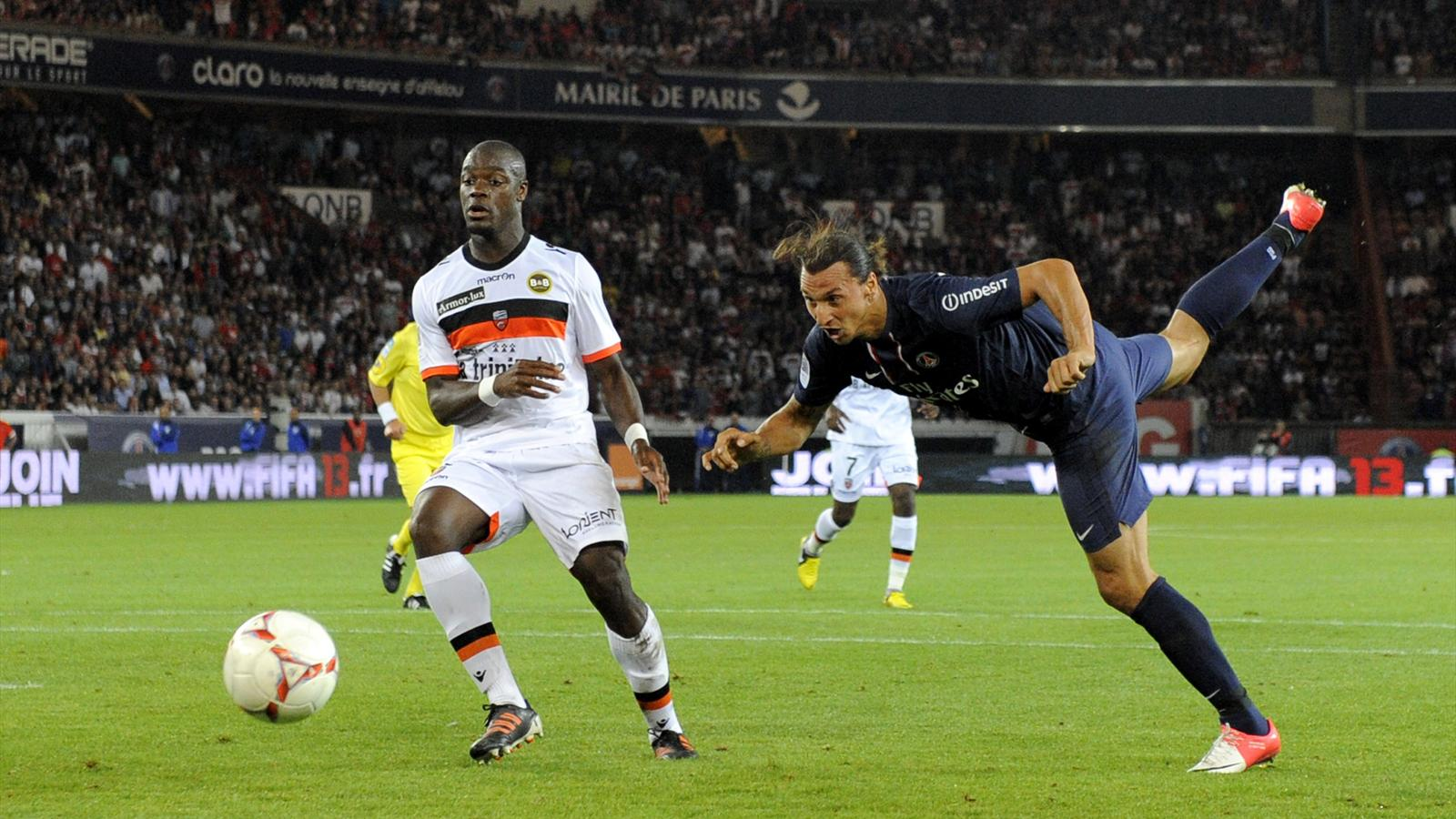 Match FC Lorient vs Paris Saint-Germain en direct live streaming