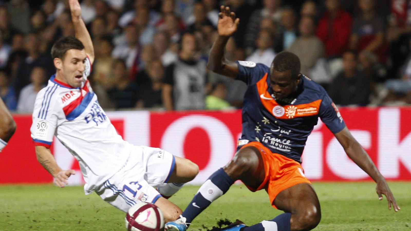 Match Olympique de Lyon vs Montpellier HSC en direct streaming live
