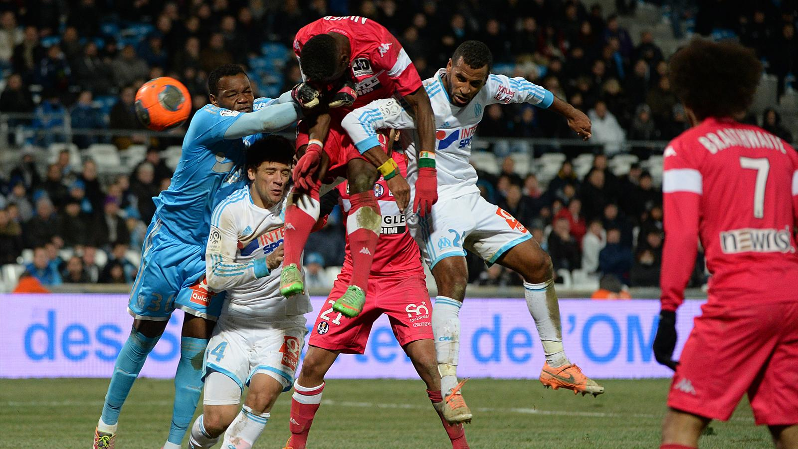 Match Olympique de Marseille vs Toulouse en direct live streaming