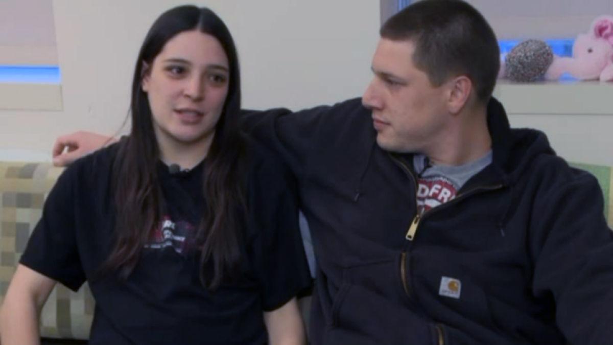 Shelby Magnani et son compagnon