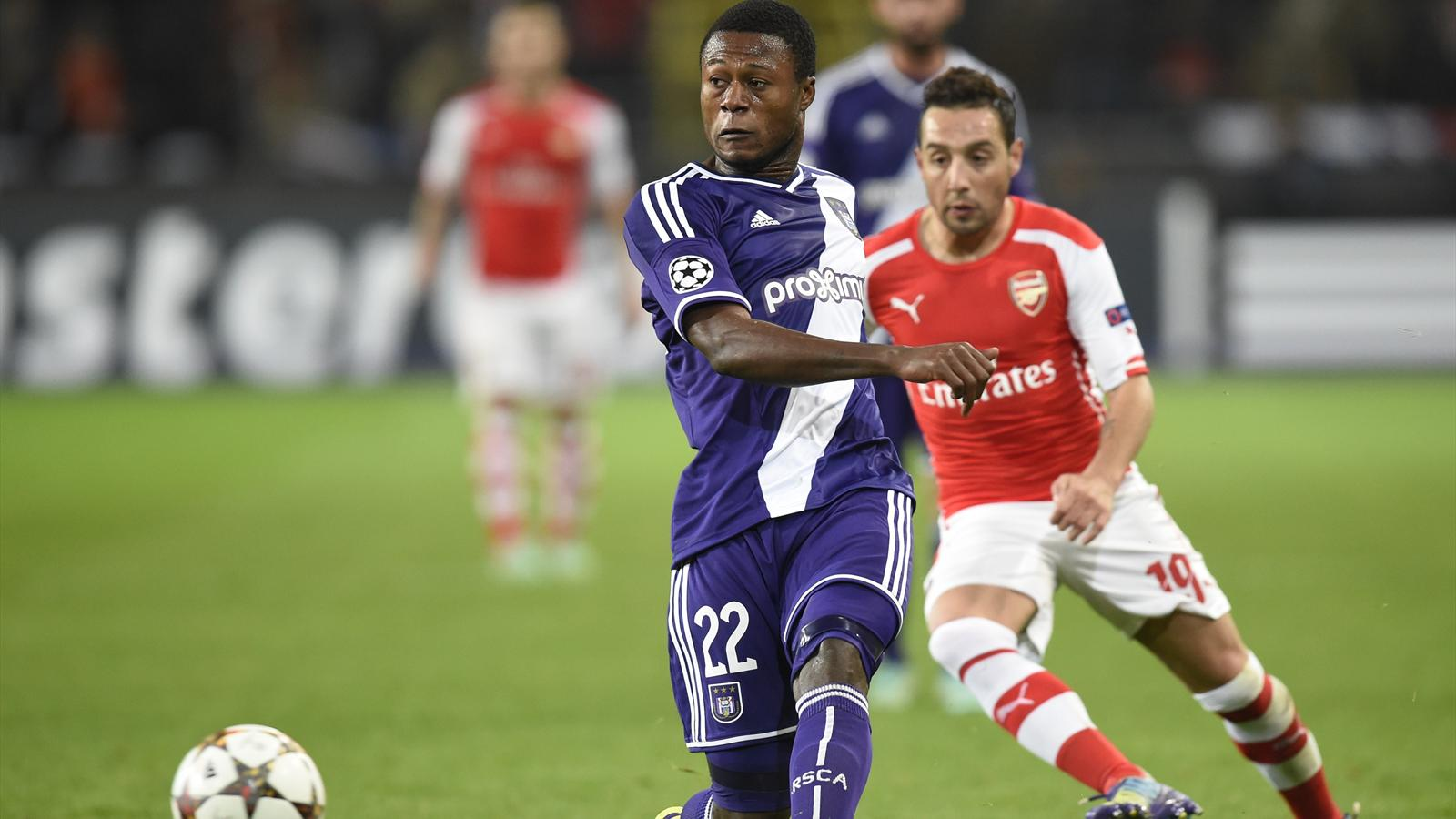 Match Arsenal vs Anderlecht en direct live streaming