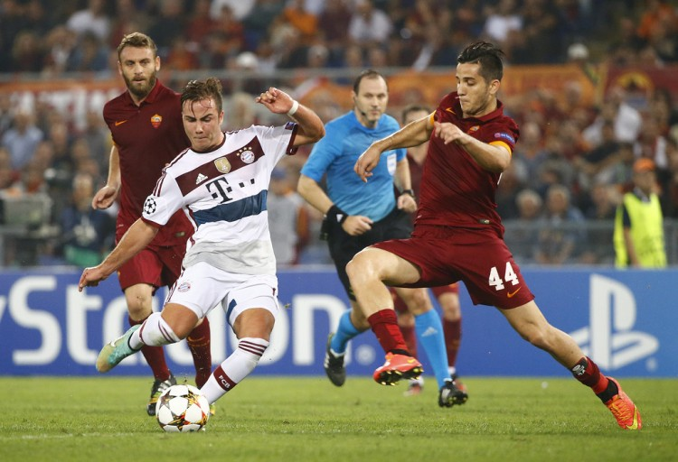 Match Bayern Munich vs AS Roma en direct live streaming