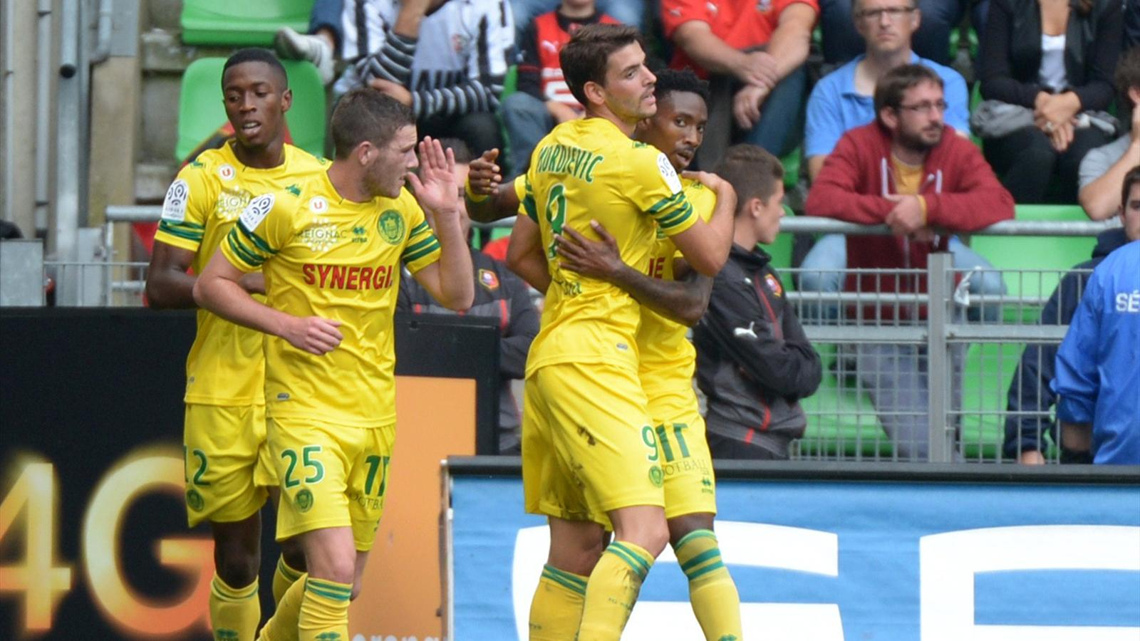 Match FC Nantes vs AS Saint-Etienne en direct live streaming