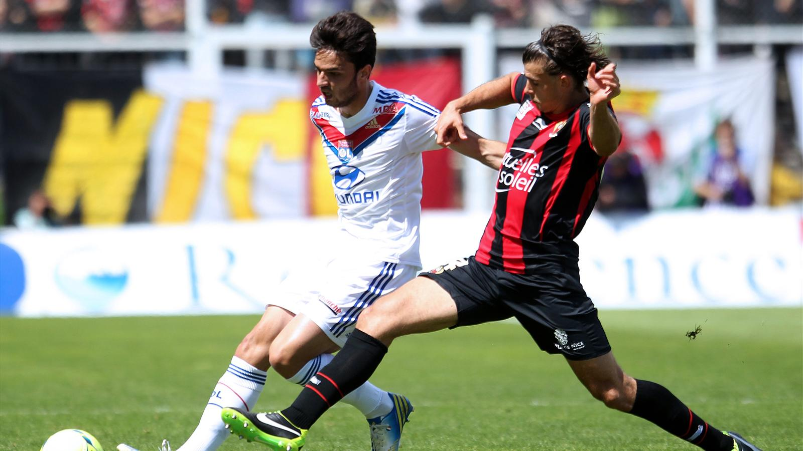 Match OGC Nice vs Olympique Lyonnais en direct live streaming