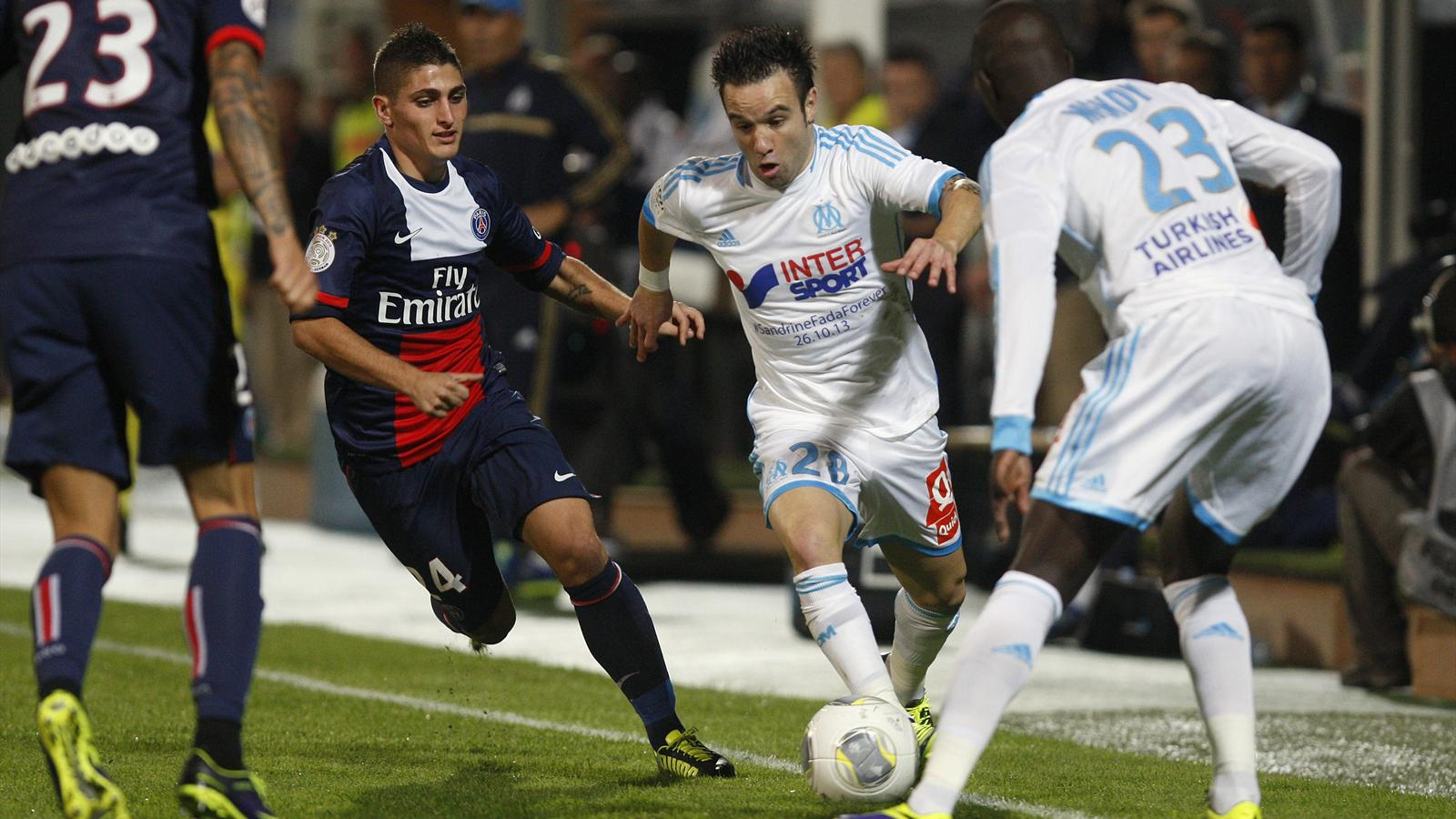 PSG - OM: Match Paris Saint-Germain vs Olympique de Marseille en direct live streaming