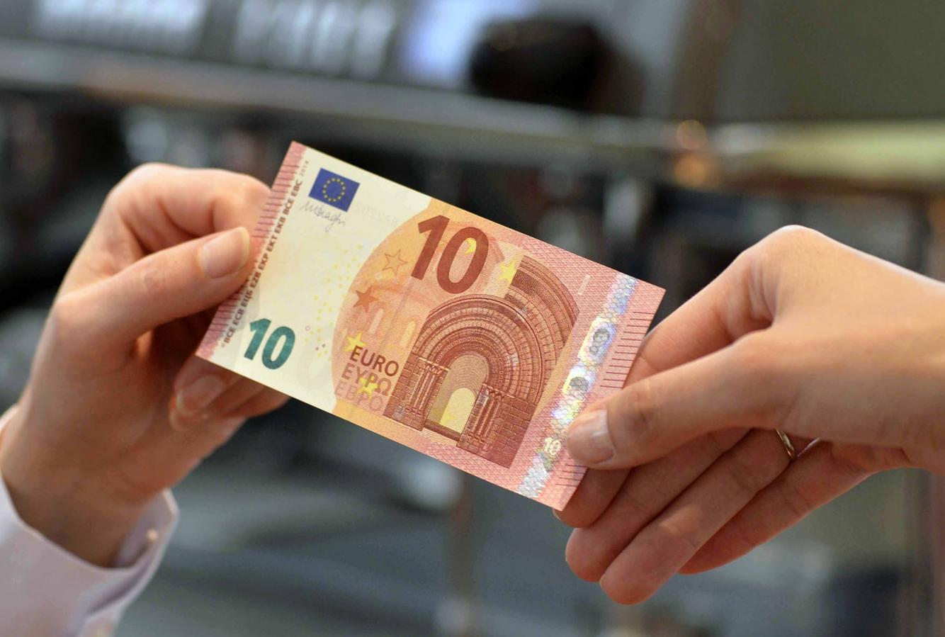 Nouveau billet de 10 Euros