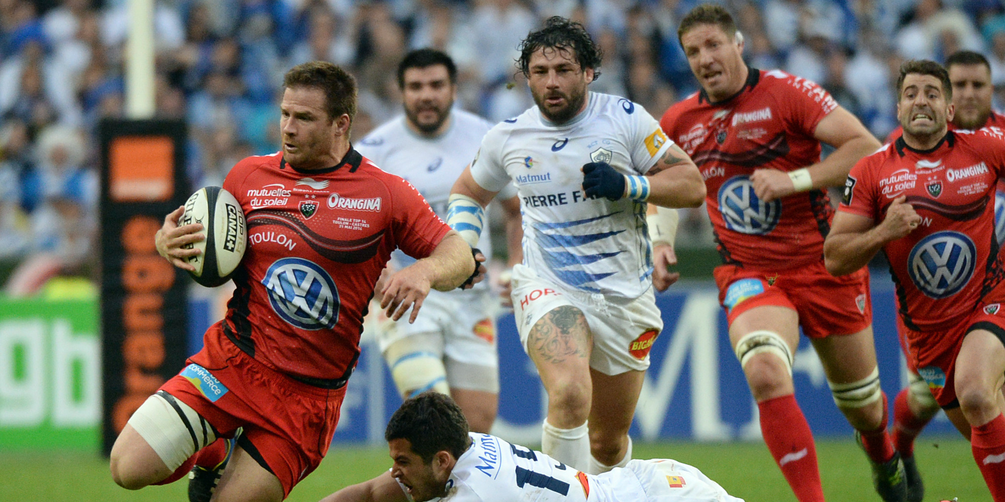 Rugby Castres Olympique vs RC Toulon en direct live streaming
