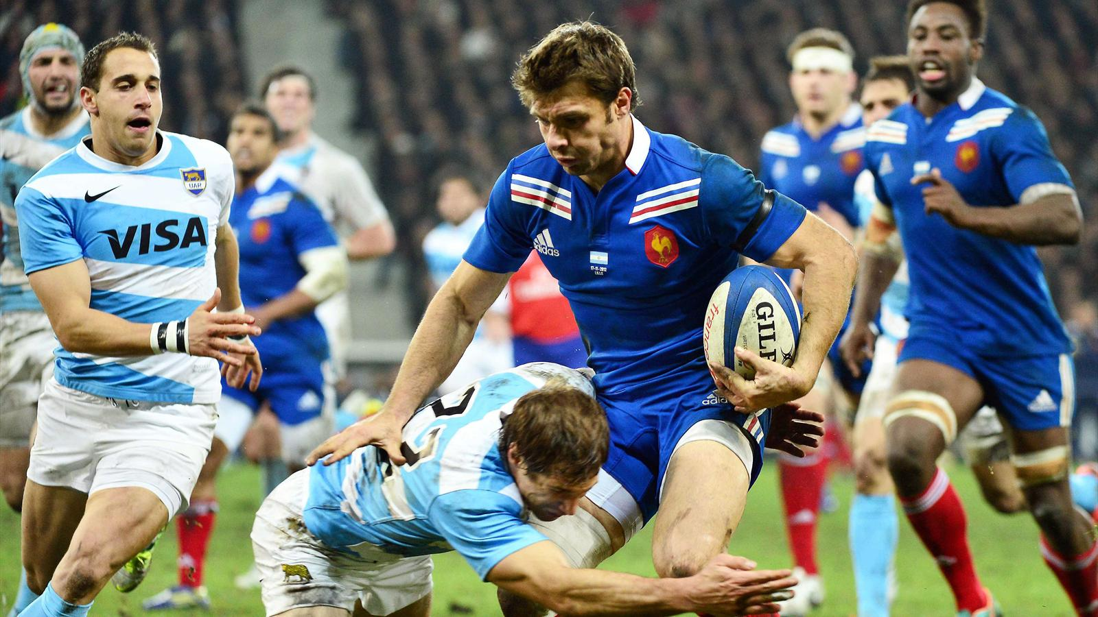 Rugby France vs Argentine en direct live streaming