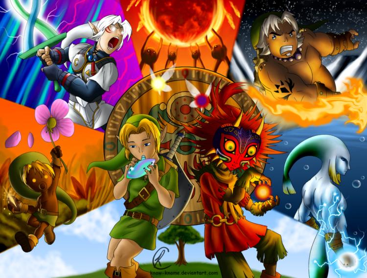 The Legend of Zelda - Majoras Mask 3D