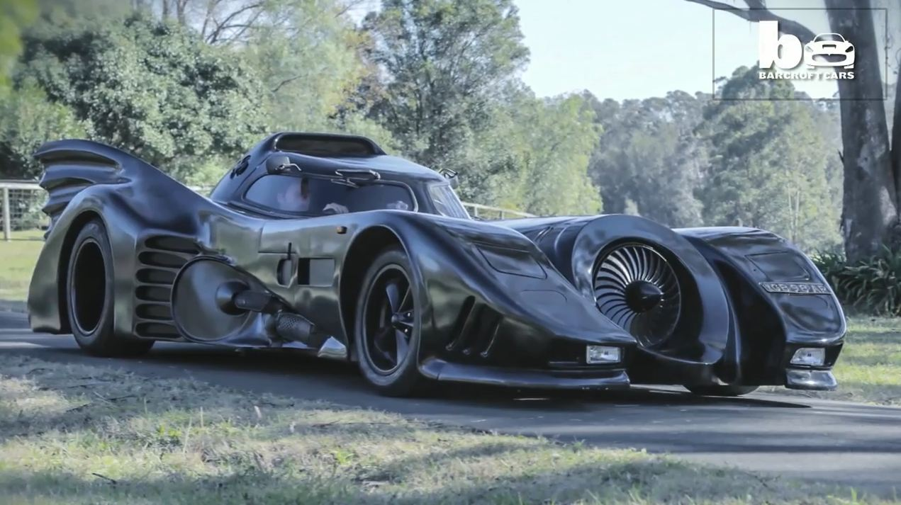 La Batmobile de Zac Mihajilovic