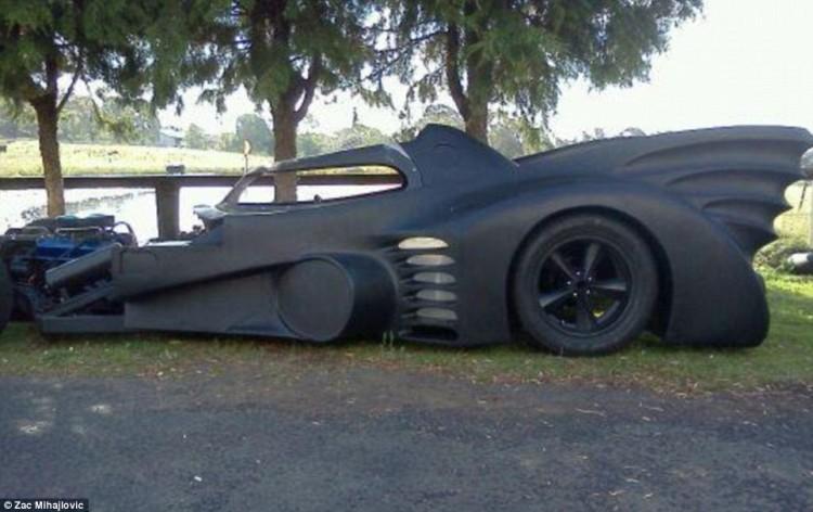 La Batmobile de Zac Mihajlovic