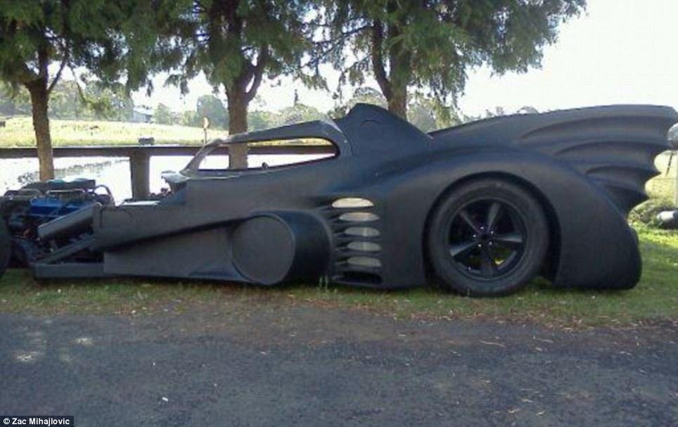 La Batmobile de Zac Mihajilovic