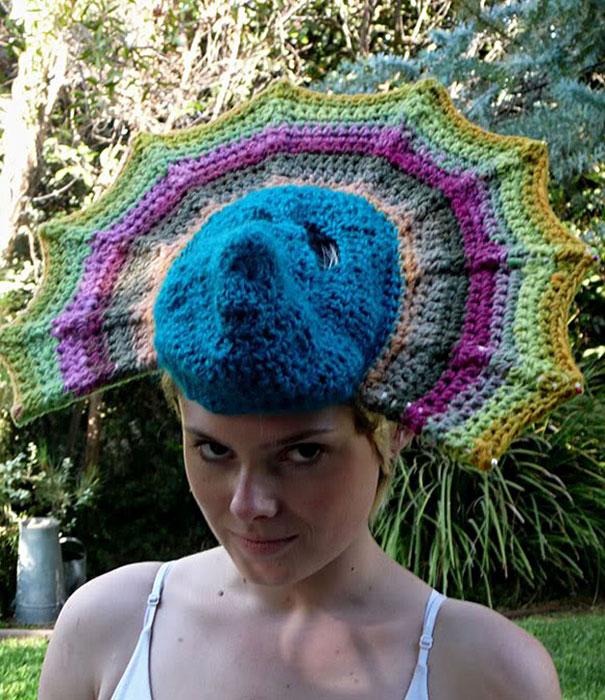 Chapeau de paon