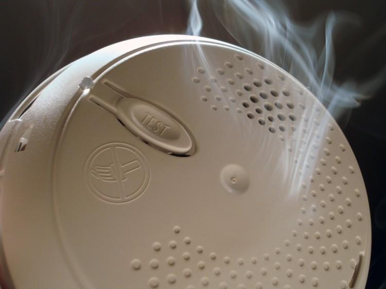 détection de fumée