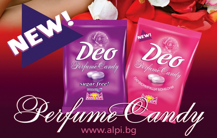 Des bonbons en guise de déodorant