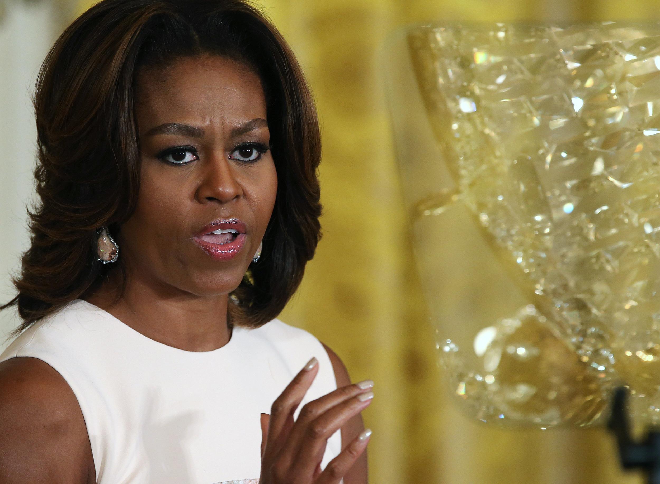 Des lycéens blâment Michelle Obama sur Twitter à cause des repas scolaires dégoutants
