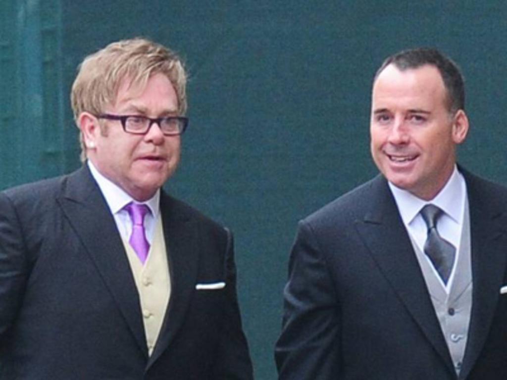 Elton John et David Furnish se sont dit OUI