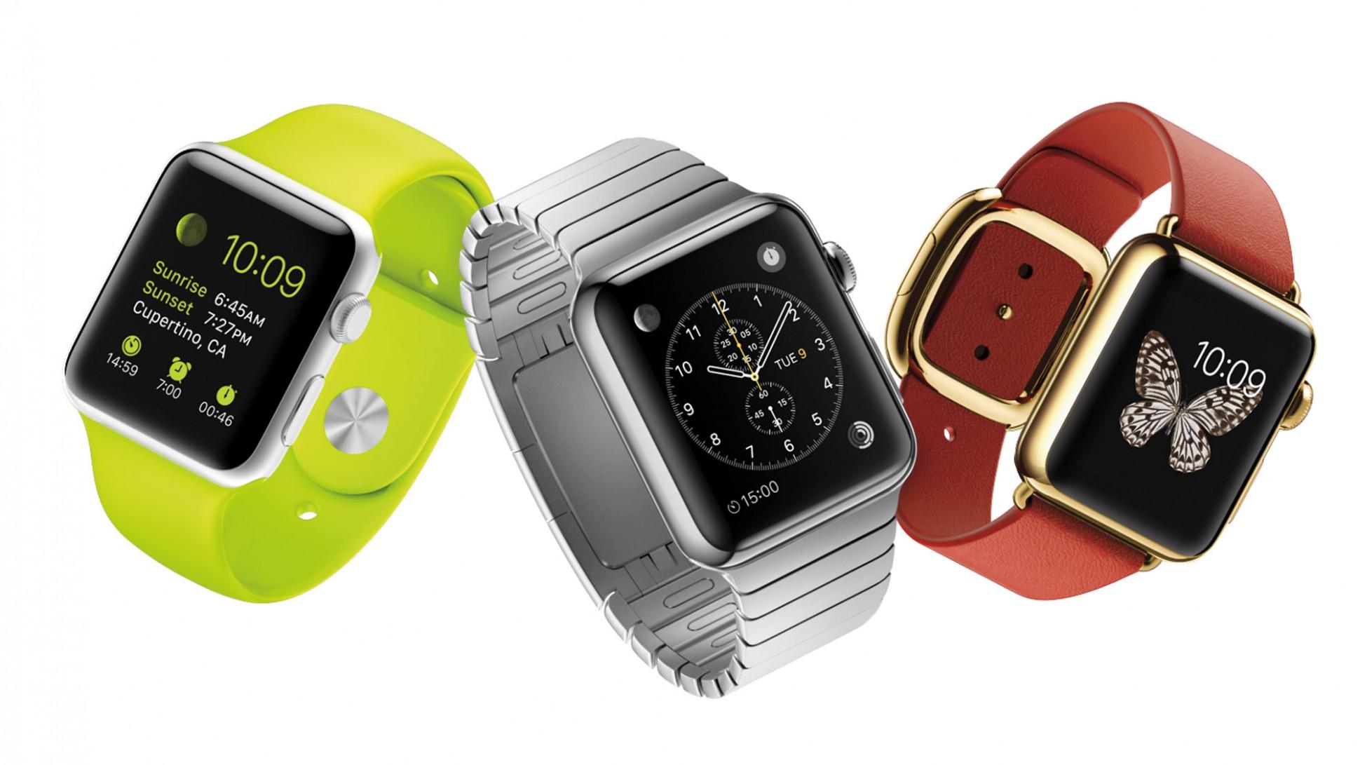 La montre connectée d'Apple