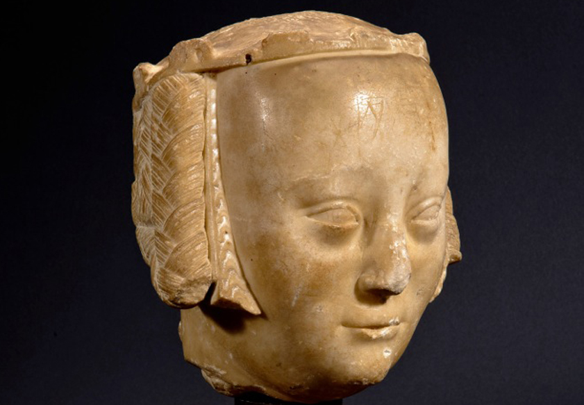 La tête en marbre de l'épouse de Charles V a été vendue aux enchères 1,150 million d'euros