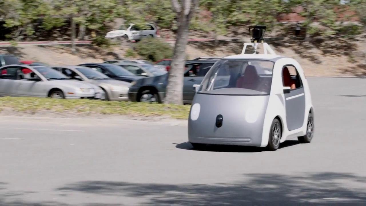 La voiture autonome de Google va être testée