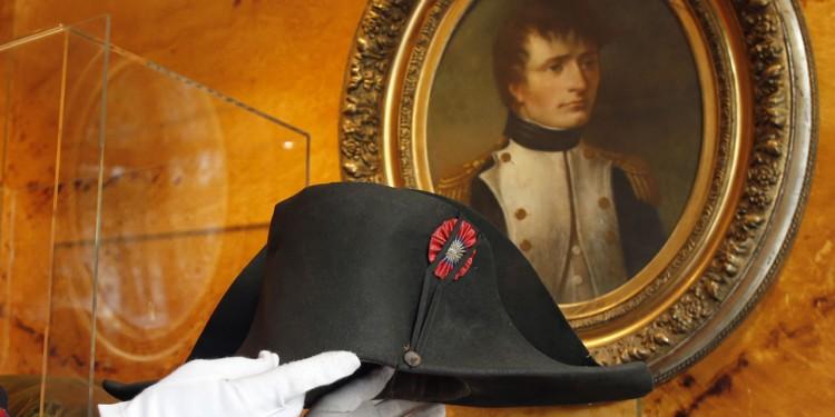 Le bicorne du l'empereur français Napoléon