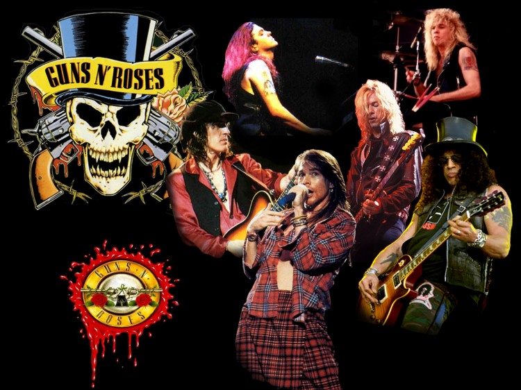 Le groupe culte Guns N' Roses