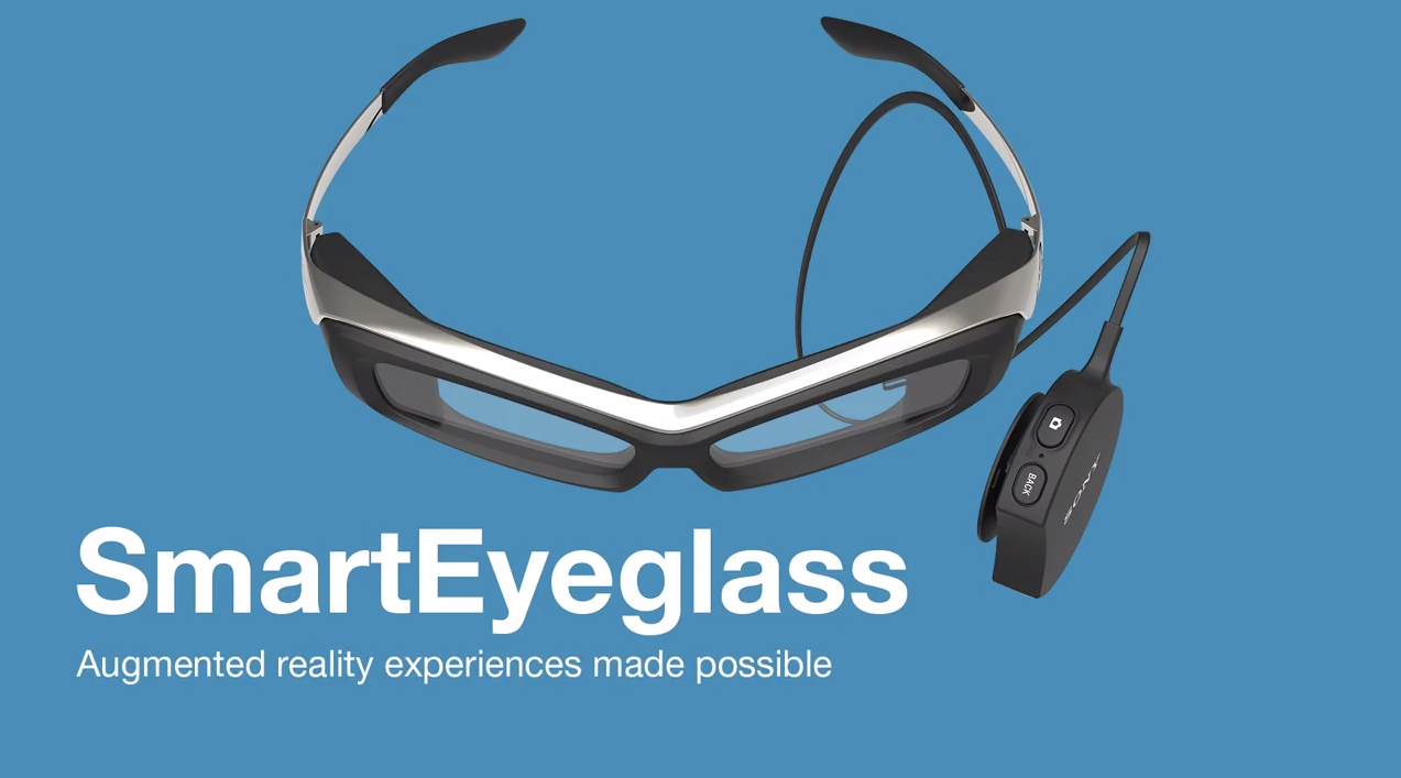 Les lunettes connectées de Sony