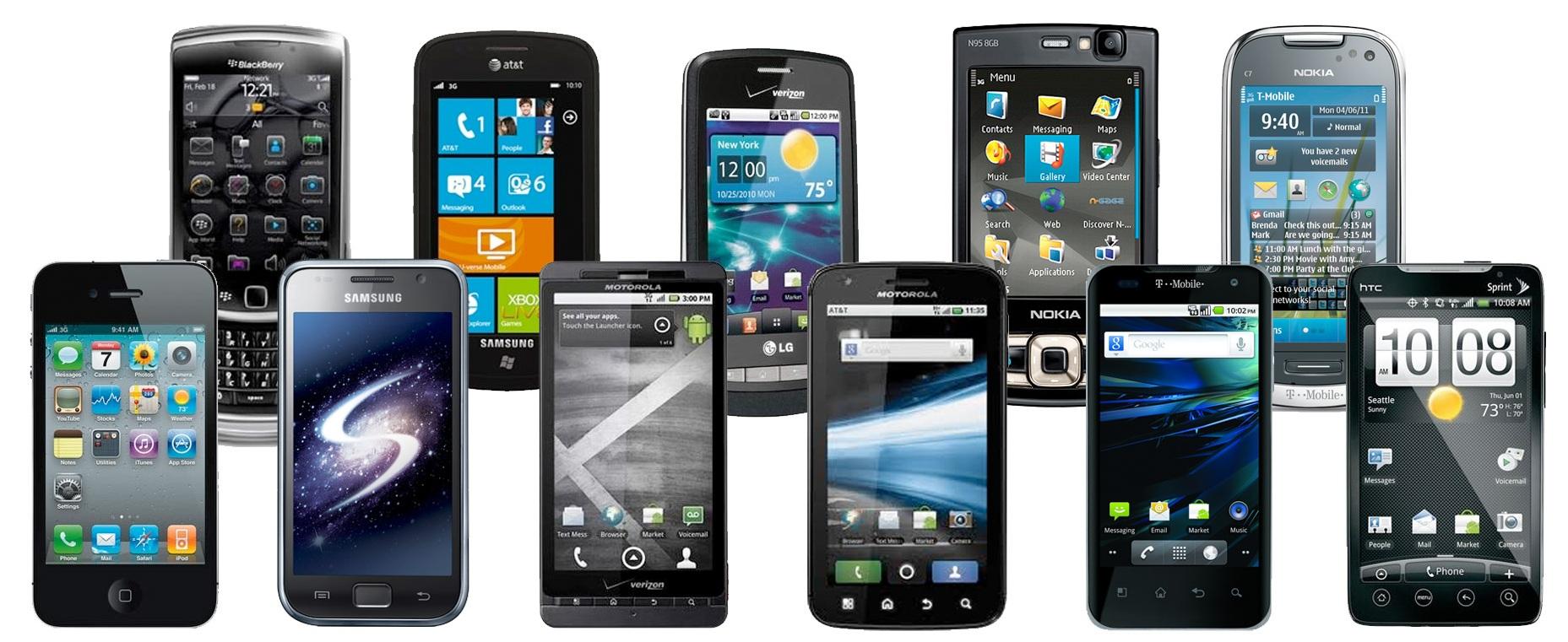 Les smartphones prennent le dessus sur les mobiles