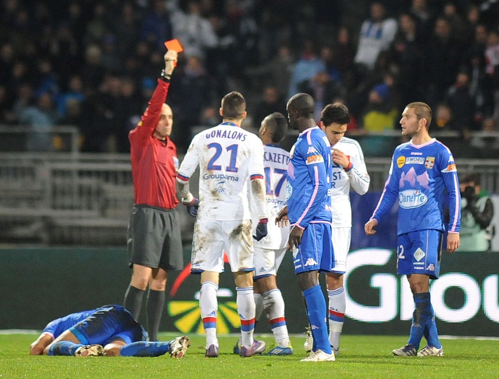 Ligue 1: Match Evian Thonon vs Olympique Lyonnais en direct live streaming