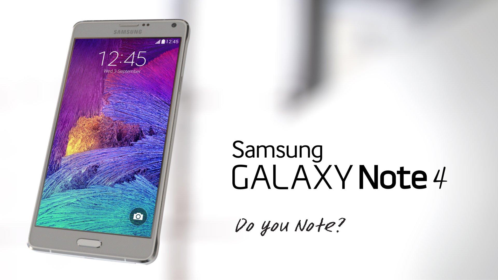 Samsung annonce une nouvelle version du Galaxy Note 4