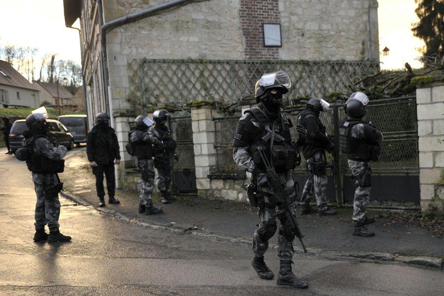 Charlie Hebdo - GIGN RAID
