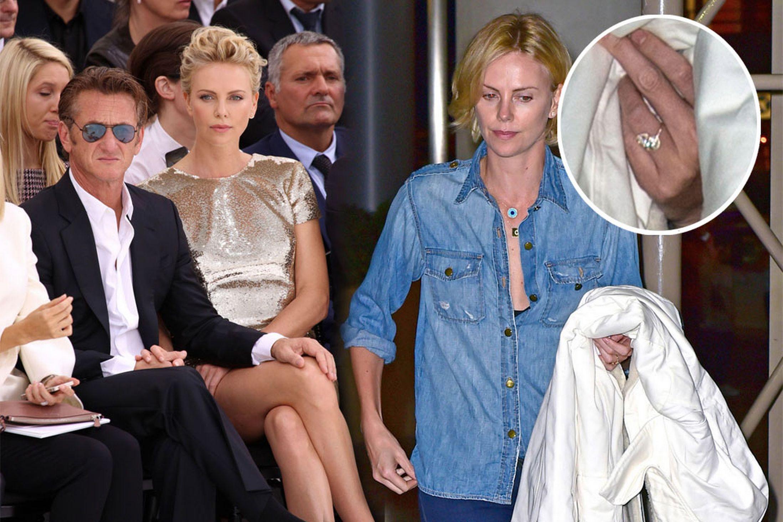 Charlize Theron serait la femme de Sean Penn