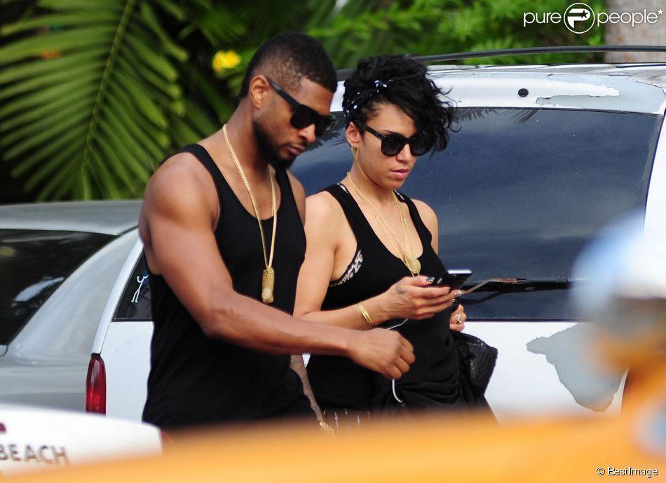 Grace Miguel et Usher comptent bientôt se marier