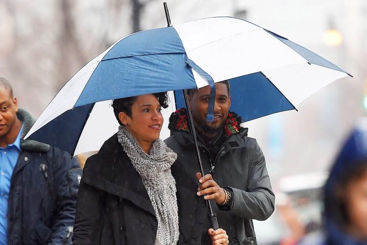 Grace-Miguel-et-Usher-fiancés