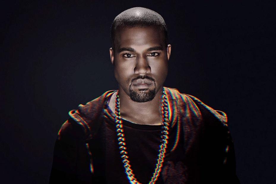 Kanye West ne montre pas ses dents