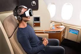 Les casques ermplacent l'écran dans les avions