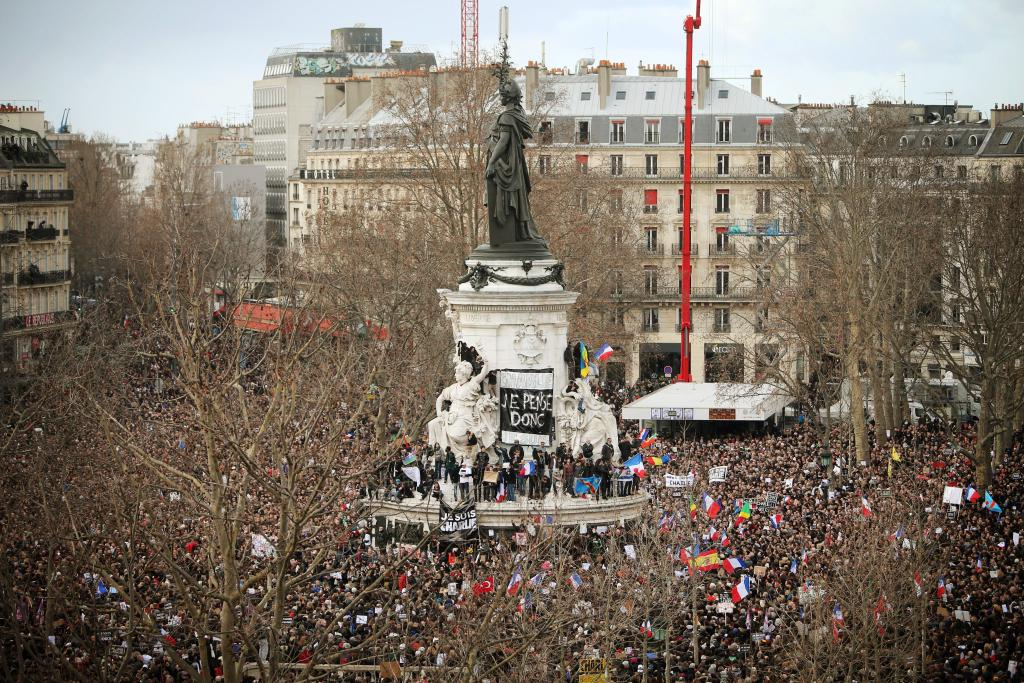 Je Suis Charlie - Manifestation à Paris
