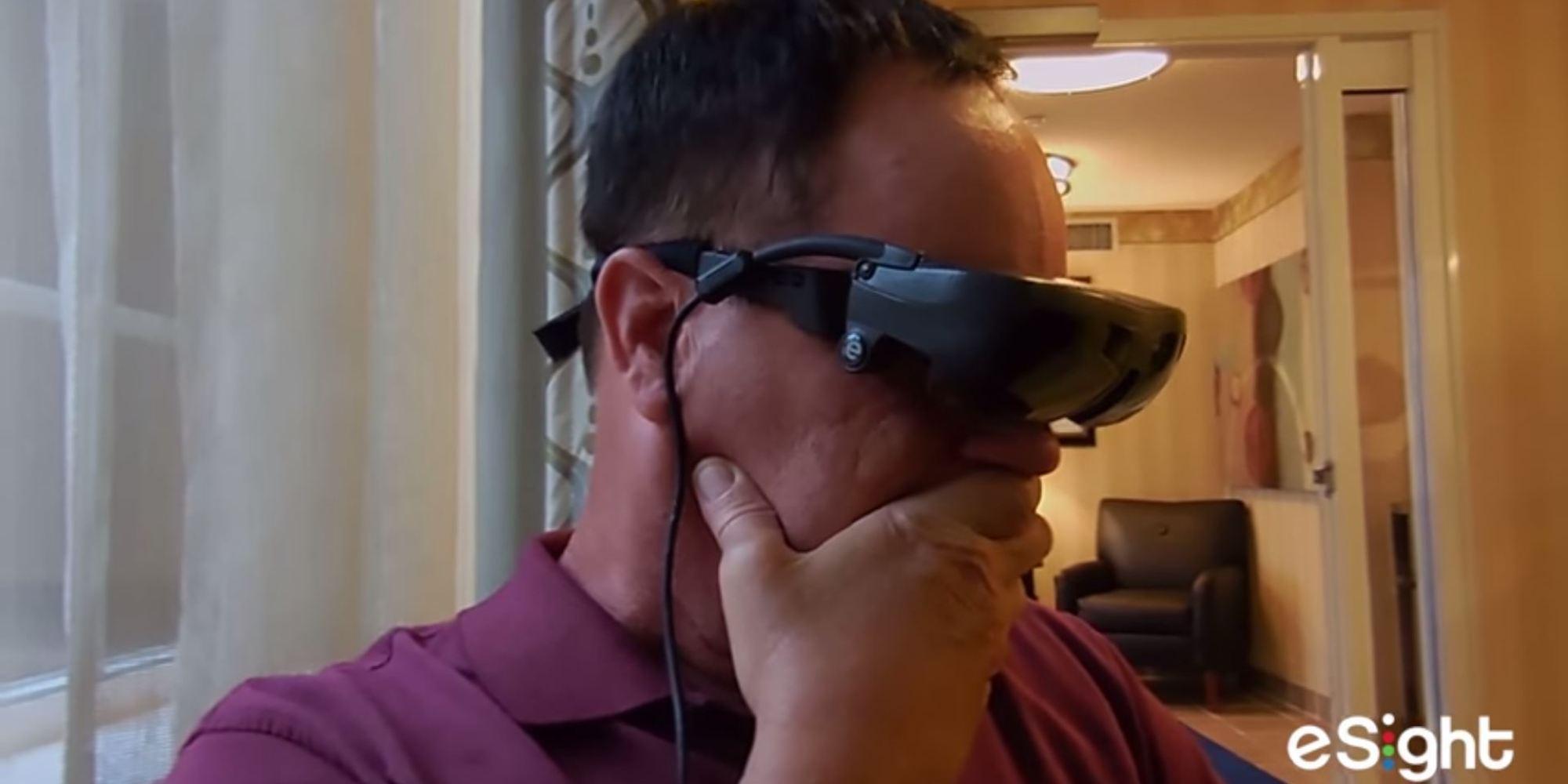 Marc Cornell a retrouvé la vue grâce à une paire de lunettes électroniques