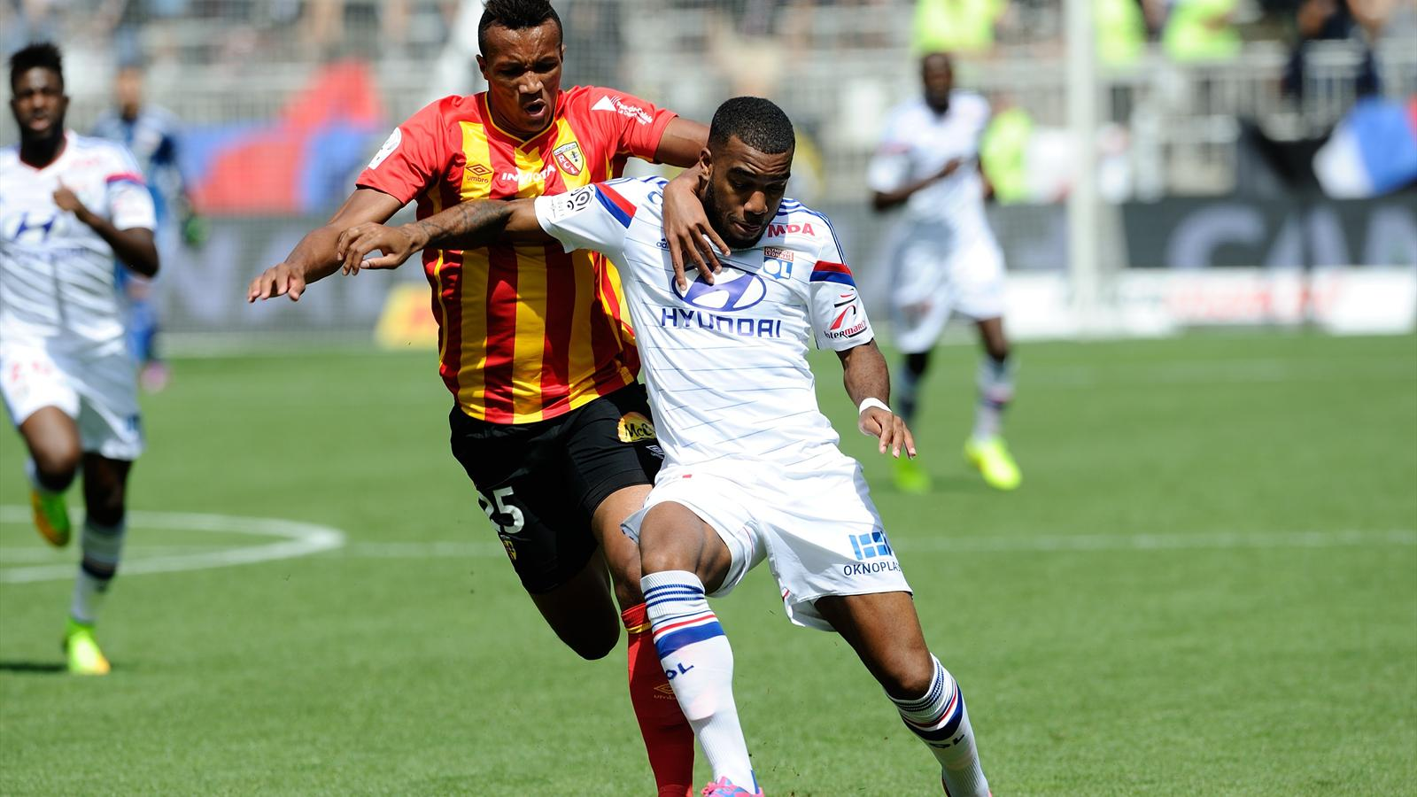 Match RC Lens vs Olympique Lyonnais en direct live streaming