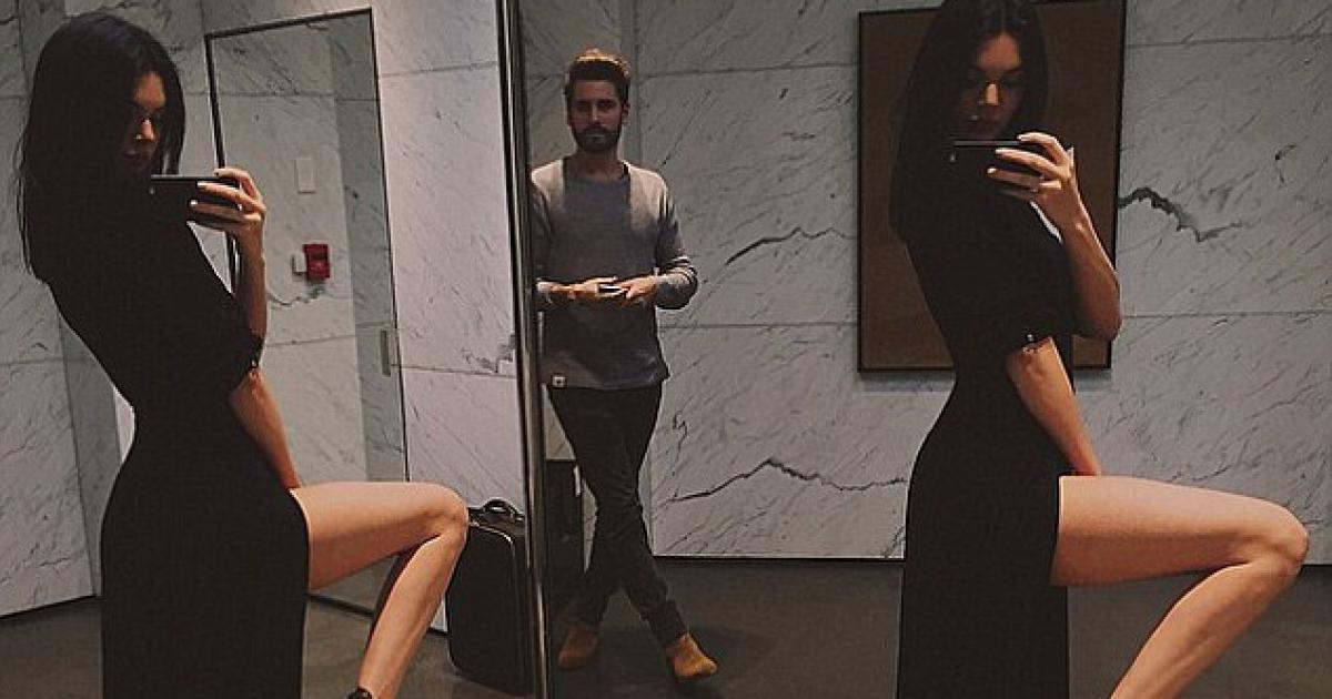 Une aventure Kendall Jenner et son beau-frère Scott Disick